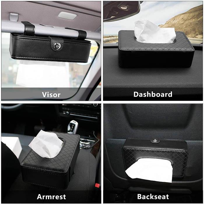 جا دستمال کاغذی برای ماشین