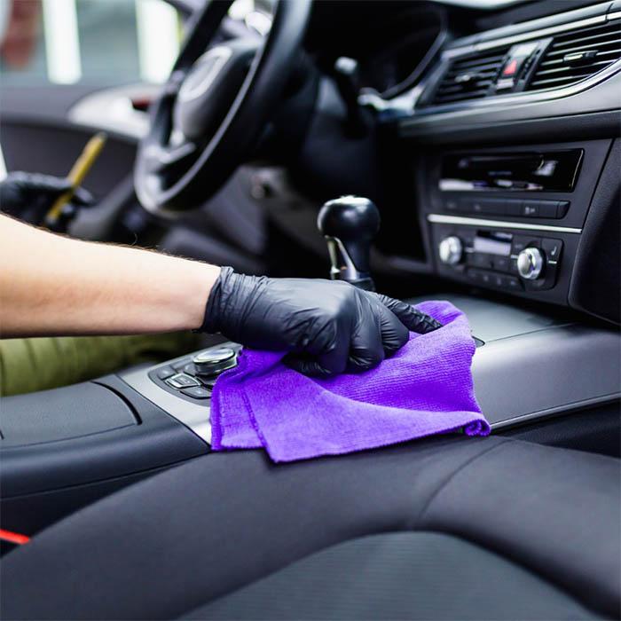 دستمال تمیز کننده ماشین