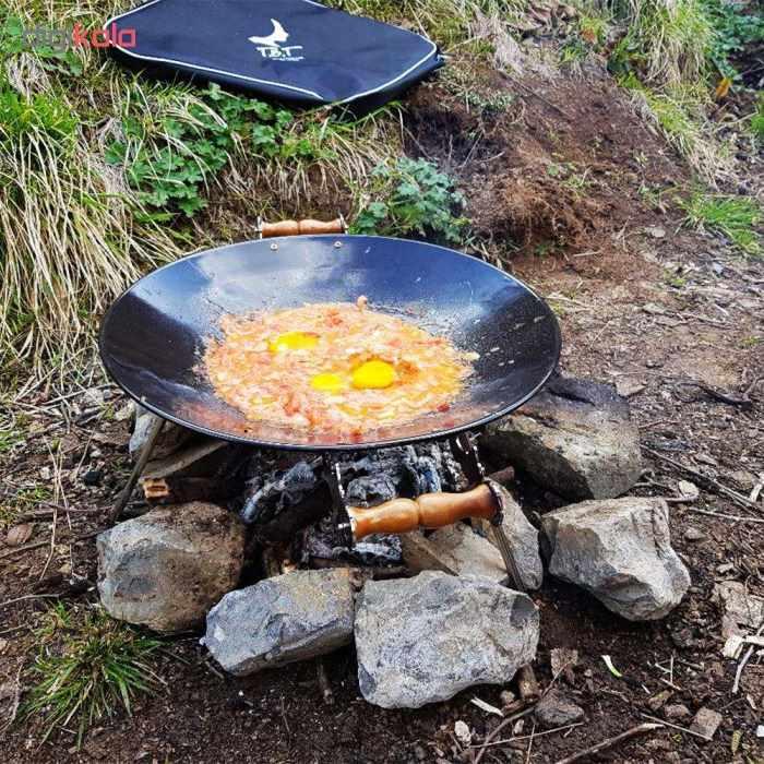 فروش ساج و سه پایه آتش