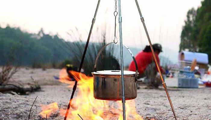 سه پایه آتش تاشو