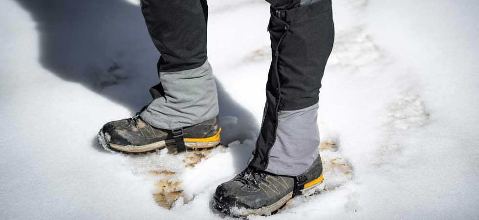گتر کفش کوهنوردی