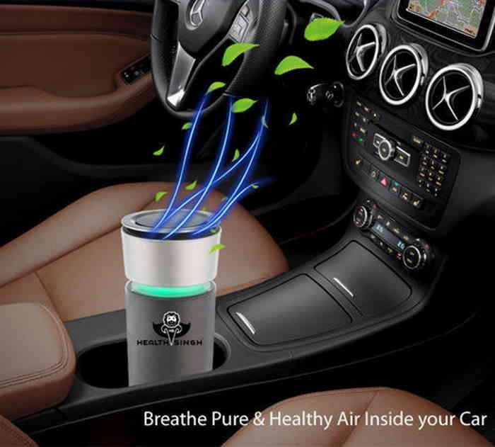 تصفیه هوای فندکی خودرو