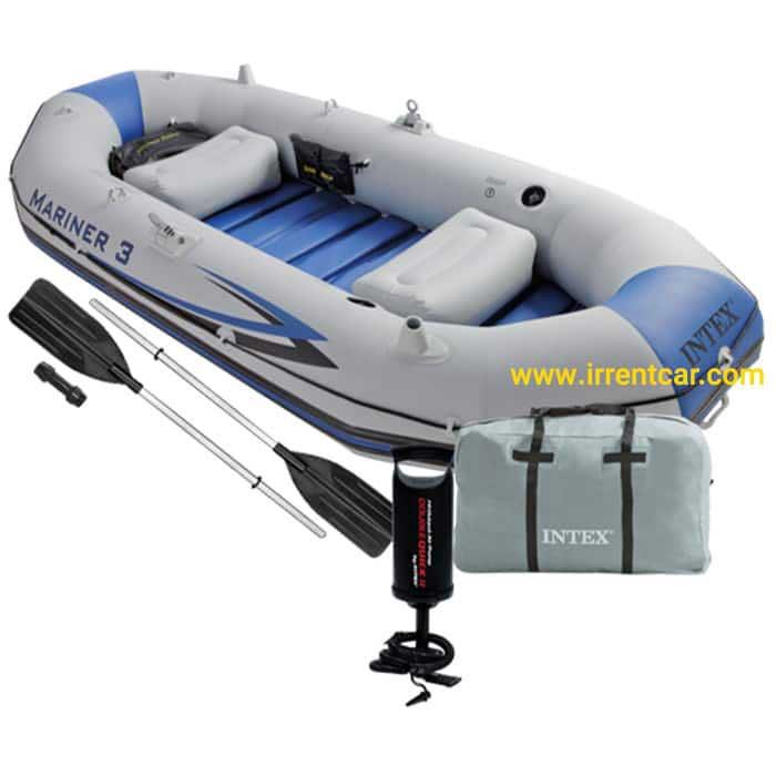 خرید قایق های بادی اینتکس | قیمت قایق پلاستیکی اینتکس چقدر است؟
