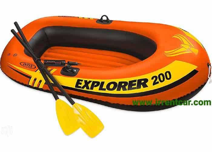 خرید قایق بادی اینتکس مدل Explorer 200 از دیجی کالا با تخفیف های ویژه