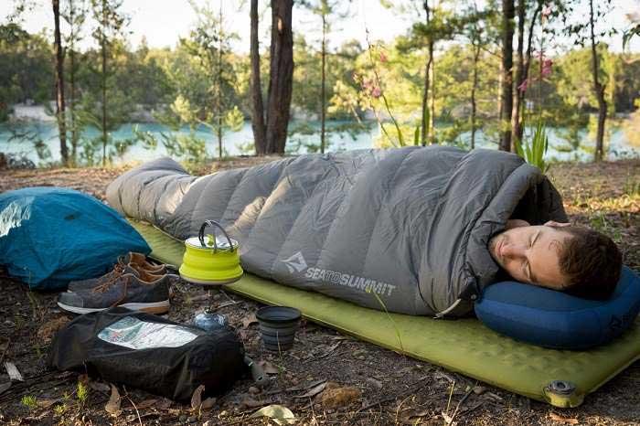 بهترین زیرانداز کیسه خواب