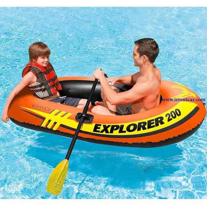 قایق بادی ارزان برای بچه ها | خرید قایق ارزان برای کودکان