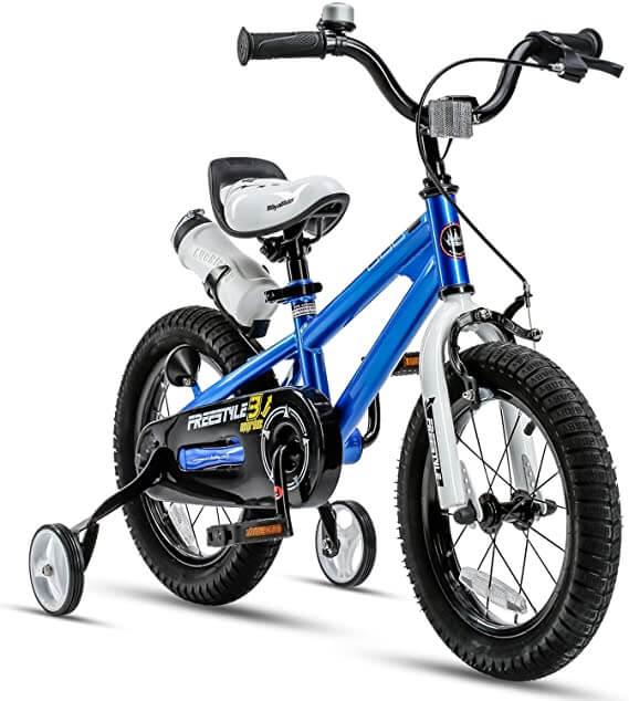 دوچرخه با چرخ کمکی برای کودکان