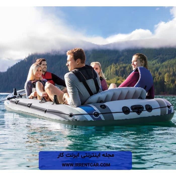 قایق بادی اینتکس؛ بهترین مارک قایق بادی در دنیا