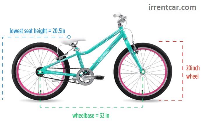 دوچرخه استاندارد برای کودکان