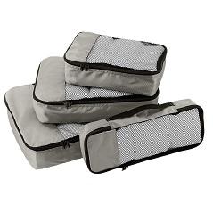 مجموعه ۴ عددی نظم دهنده ساک و چمدان تک سبد