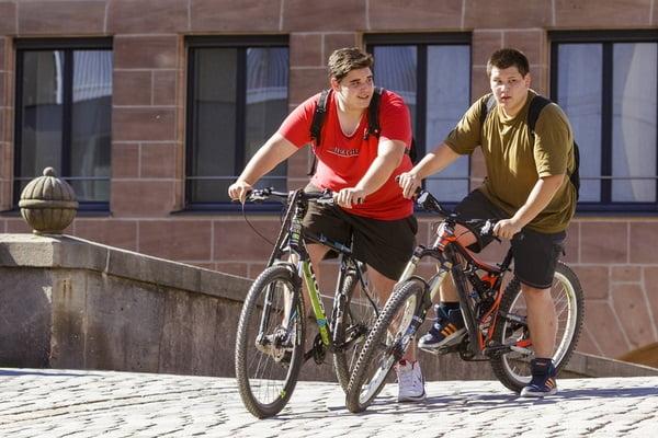 دوچرخه برای ادمای چاق