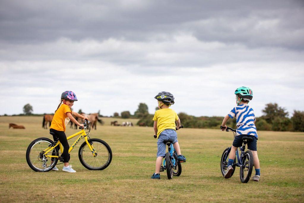 سن آموزش دوچرخه سواری
