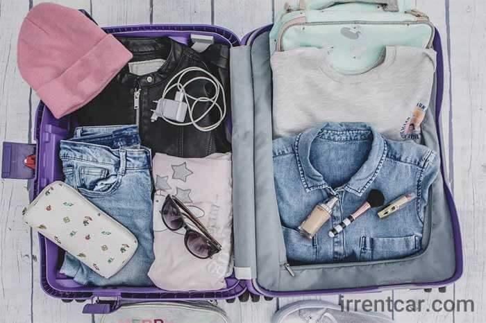 11 طریقه چیدن لباس در چمدان به شیوه صحیح