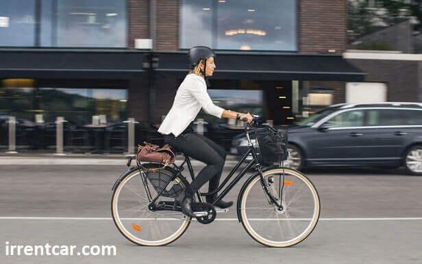 دوچرخه شهری با تحمل وزن بالا برای سنگین وزن ها