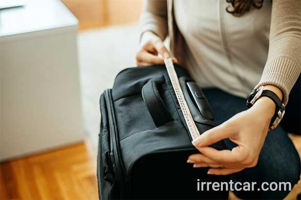 ابعاد چمدان کابین سایز بزرگ