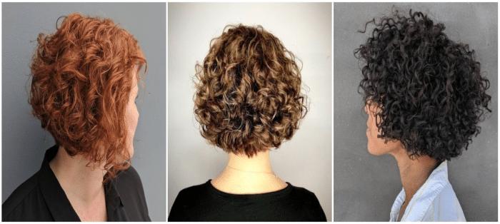 مدل موی فر کوتاه