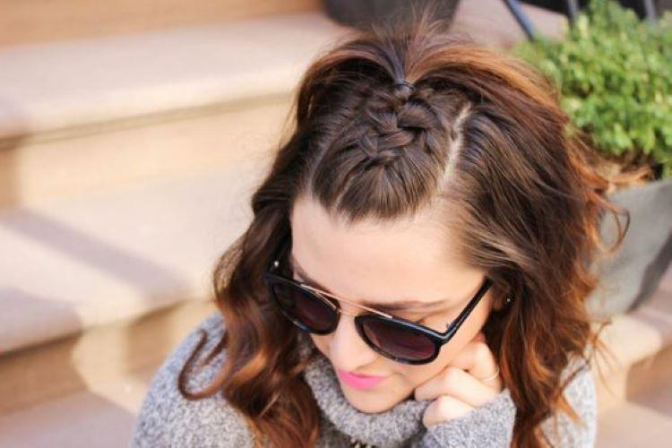 آموزش بستن موی فر کوتاه بافت جلو