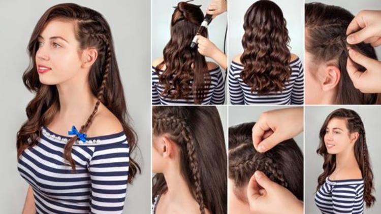مدل موی بابلیس شده باز دخترانه