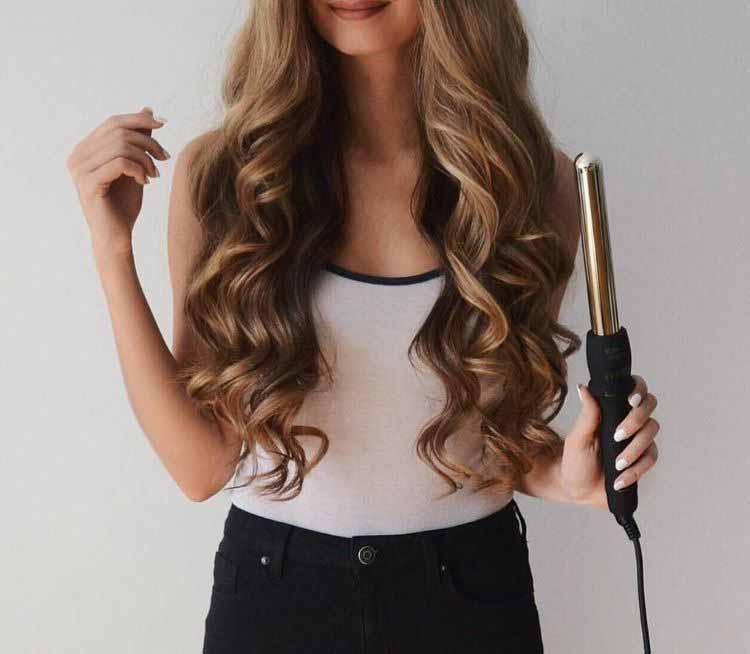 اتو فرکننده مو بدون گیره نگهدارنده