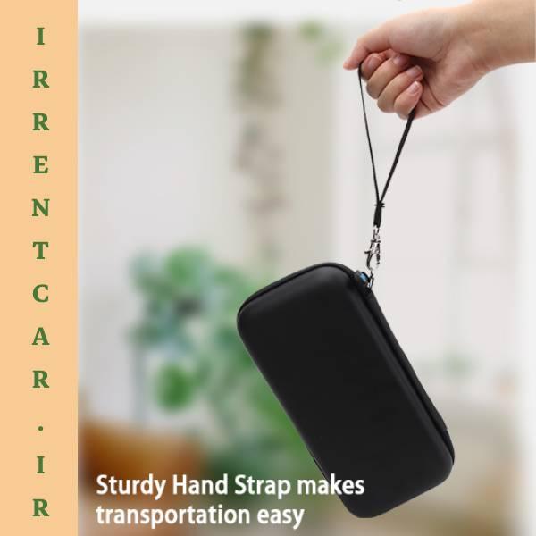 سهولت حمل کیف هارد