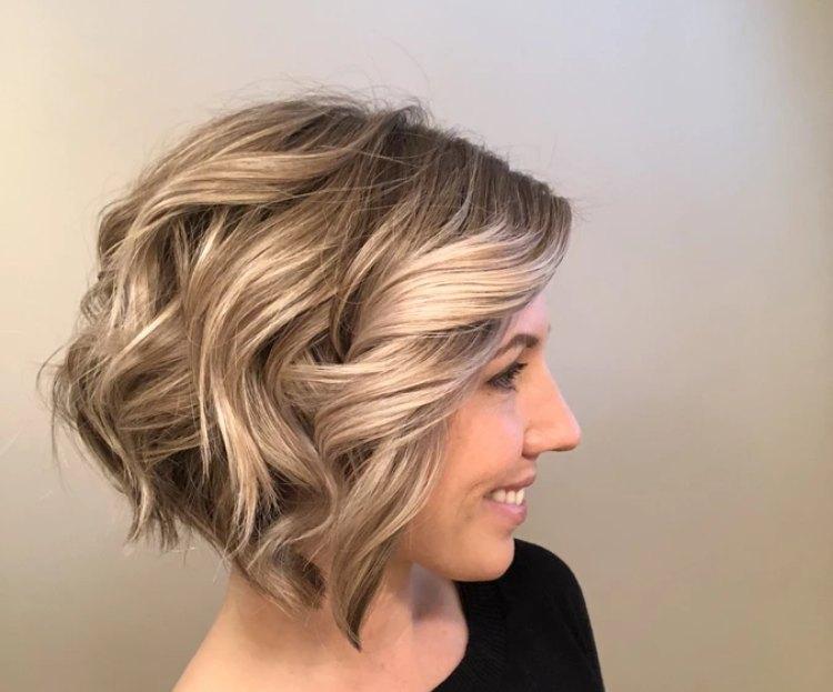 مدل مو با بابلیس برای موهای کوتاه